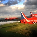 The Red Arrows Transit to Preswick