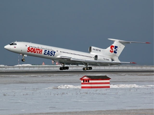 South East Airlines (Dagestan Airlines) Tupolev Tu-154M