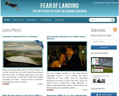 Screenshot of Fear of Landing