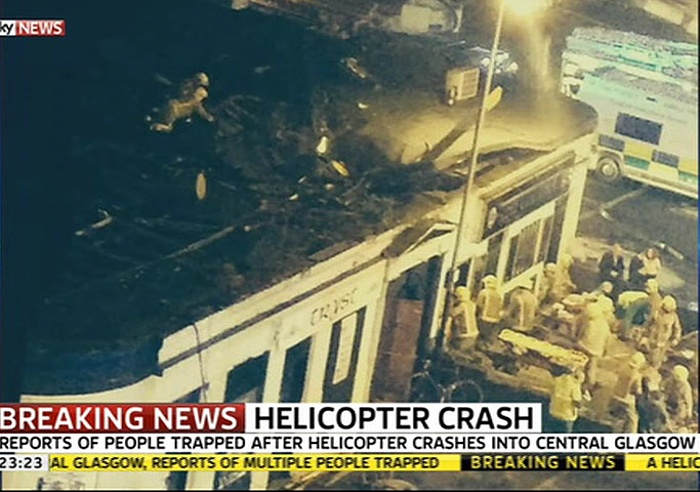 today the british air accidents investigation branch aaib released their report on the eurocopter ec135 which crashed into glasgow city centre two years