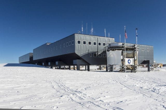 US Amundsen Scott South Pole Station  by Sergeydolya