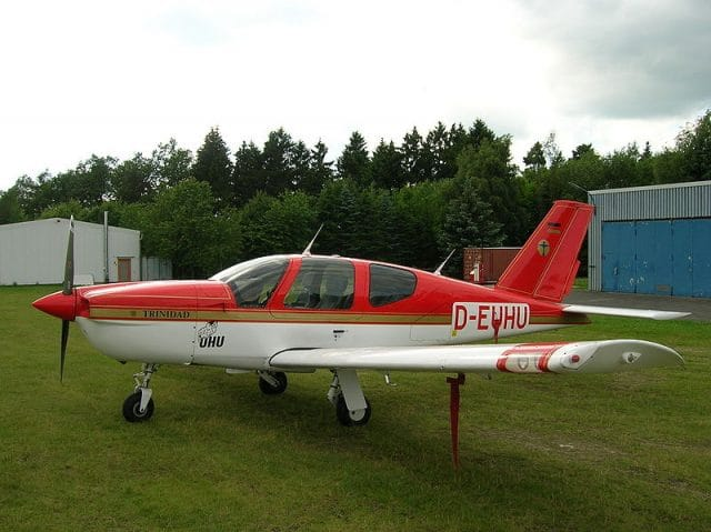A Socata TB 20 Trinidad GT similar to the accident aircraft taken by El Grafo