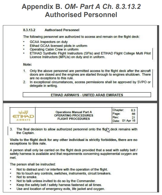 emirates safety manual