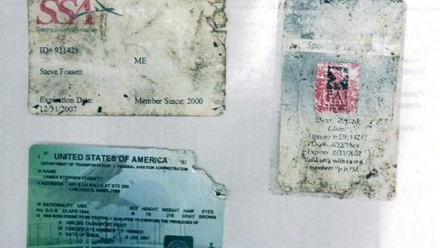 Documents discovered by hiker
