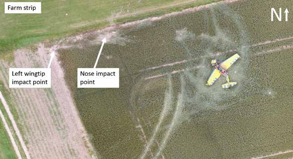 Aerial View of the Accident Site