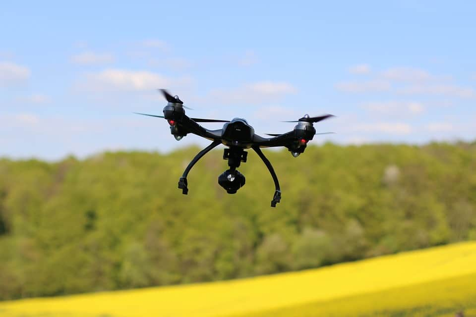Fear of Landing - Unexpected Uses of Drones