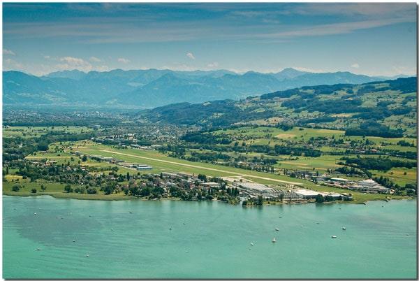Altenrhein on Lake Constance